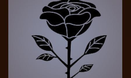 Dozen Roses in Vase